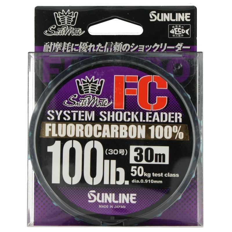 G7672-Sunline Fluorocarbon SM System Shock Leader FC 30 mts