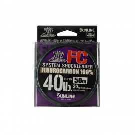 G7671-Sunline Fluorocarbon SM System Shock Leader FC 50 mts