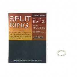 G7032-BKK Split Ring Stainless