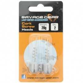 G6338-Savage Gear Cork Screw Heads