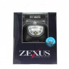4955458202604-linterna frontal Zexus Led ZX-260 BK