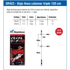 4993722890164-Hayabusa bajo de linea calamar triple de 120 cm SR423