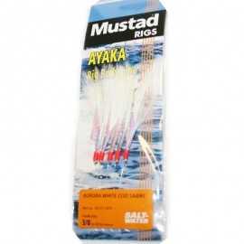 7021560451050-Mustad Sabiki Ayaka Aurora White T60 S1462 1 0