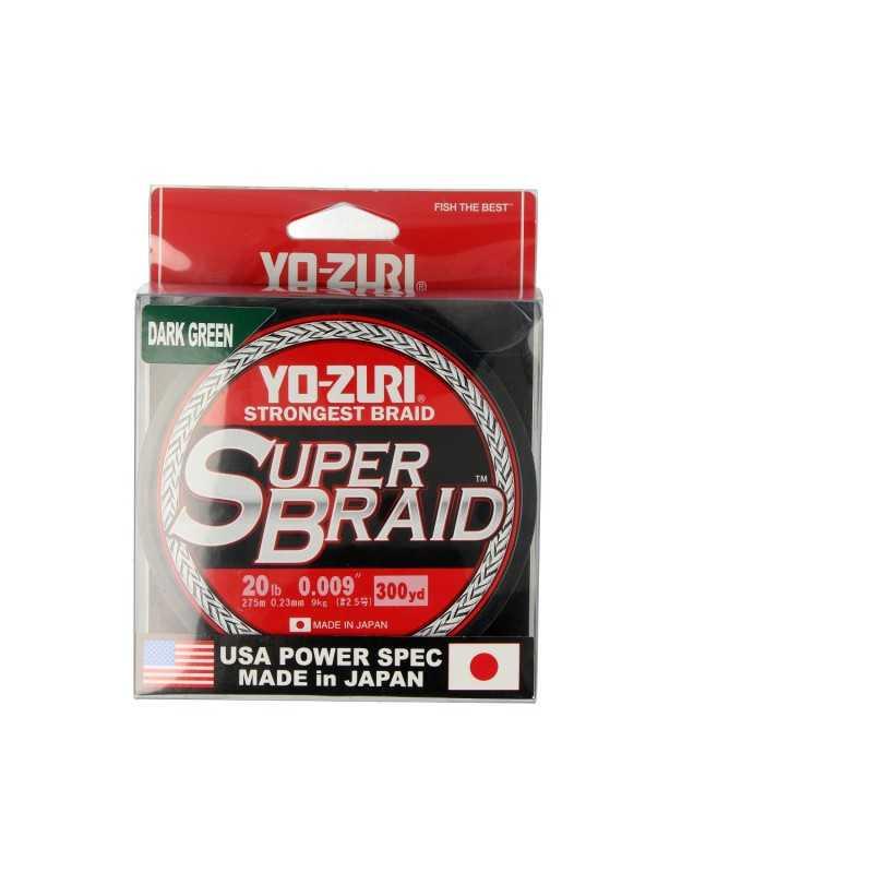 G7722-Yo-Zuri Super Braid 4X 300yds