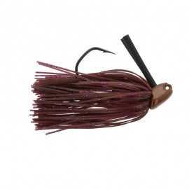 80325786337287-Longasbait M7 Jig Owner 3/8 Oz Cinamon Purple