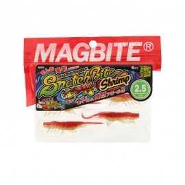 """G7765-Magbite SnatchBite Shrimp 2.5"""" / 6 uds"""