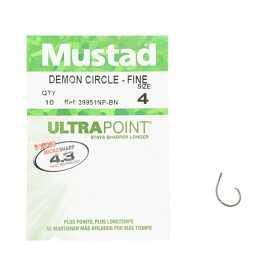 G7431-Mustad Demon Circle-Fine