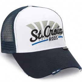 780647086437-Gorra St. Croix Rods Blue Meshcap Headwear