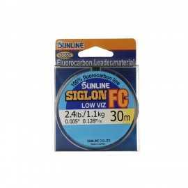 G7673-Sunline SIGLON Fluorocarbon Low viz 30 m.