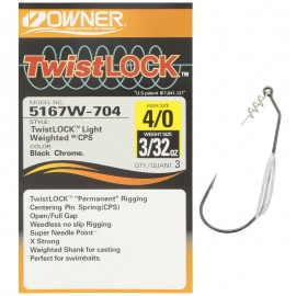 G6578-Owner Simple Weighted Twist Lock 5167W