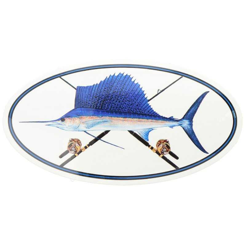 21767-Fish Stix Adhesivo Oval
