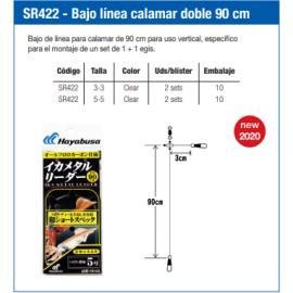 4993722846277-Hayabusa bajo de linea calamar doble 90 cm SR422