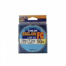 G7674-Sunline SIGLON Fluorocarbon Low viz 50 m.