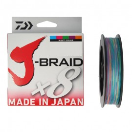 G6339-Daiwa J-braid X8 150 mt Multicolor