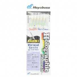 G7417-Hayabusa Sabiki Ex110 Holographic Fishscale