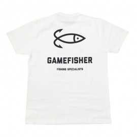 90022-GAMEFISHER T-shirt Logo Blanca