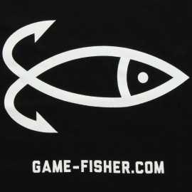 90023-GAMEFISHER T-shirt Logo Negra