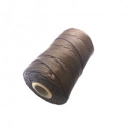 8428679014753-Attak Bobina Cuerda nylon marrón 100 mt 2 mm