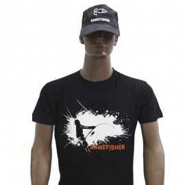 90025-GAMEFISHER T-shirt Silueta Negra