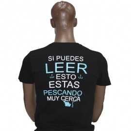 G7316-Camiseta GF Advertencia Pescador Black