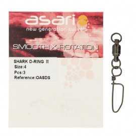 12758-Asari Shark D-ring II Oasds