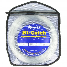 G7866-Momoi Hi-Catch Nylon Madeja 100 mt Transparente