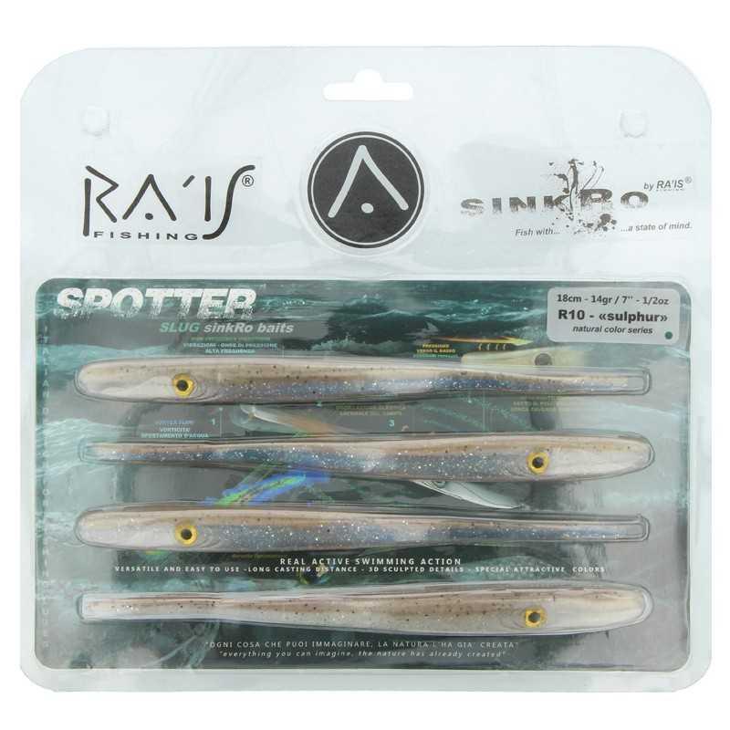 "G6255-Rais Fishing Spotter 2.0 - 7"" 18 Cm 14 Gr  (4 Uds)"