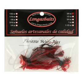 21555-Longasbait Finesse Wire Jigs 3/8 Oz