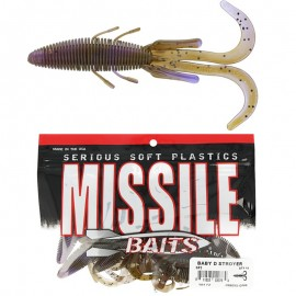 """G6870-Missile Baits Baby D Stroyer 5"""" (10 unit)"""
