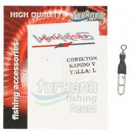 Turkana Conector Rápido V Size L (6 Uds.)