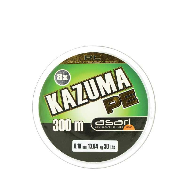 G7643-Asari Kazuma trenzado Verde 8x 300 mt
