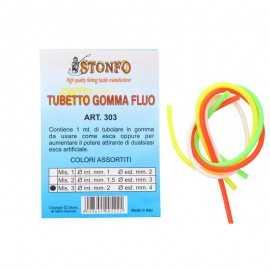 8028651005221-Stonfo Tubo Goma Fluo 303 4 mm
