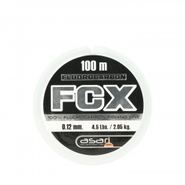 G7641-Asari fluorocarbono FCX 100 mts