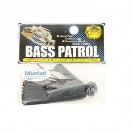Bass Patrol Football Rubber Jig 1/2 oz