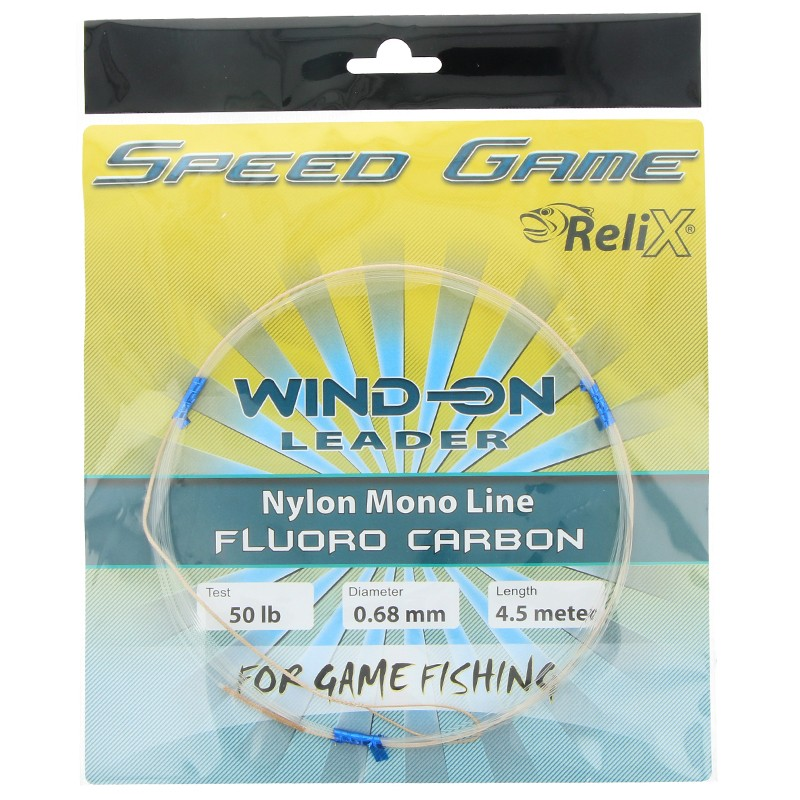 G6259-Relix Speed Game Wind On Leader Fluorocarbono