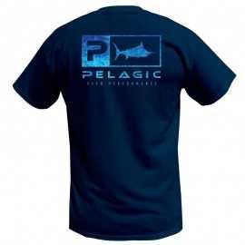 Pelagic Deluxe Dorado Blue Basic Fit S/S