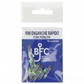 8436581610086-BFC Mini Enganche Rapido Con Perlita 10 Uds.