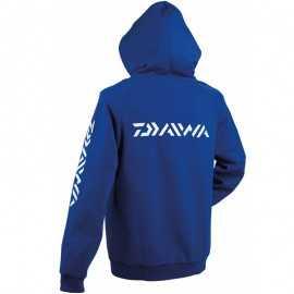 21895-Daiwa Hoodie Azul Sudadera con Capucha