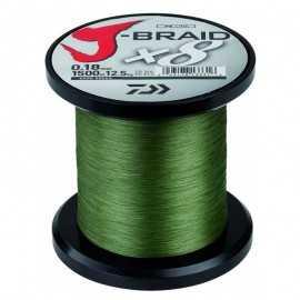 90174-Daiwa J-braid X8 3000 mt Dark Green
