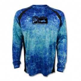 G7508-Pelagic T-Shirt Vaportek Dorado Hex Blue