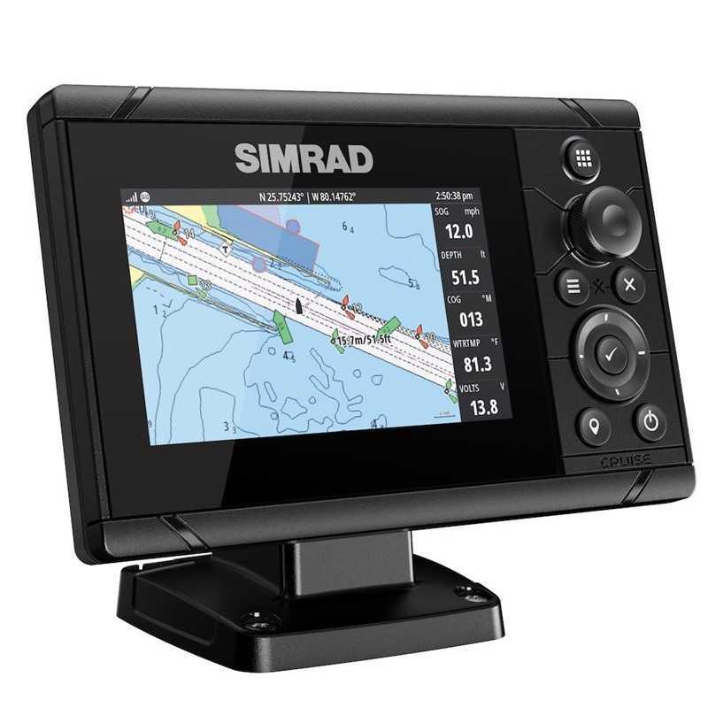 9420024179338-Simrad Cruise 5 Chartplotter Fishinder c/ Transductor