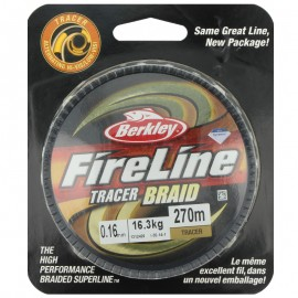 G6473-Berkley Fireline Tracer Braid 270 Mt