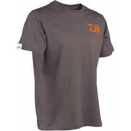 G7415-Daiwa Tee Shirt TSGO Gris Naranja