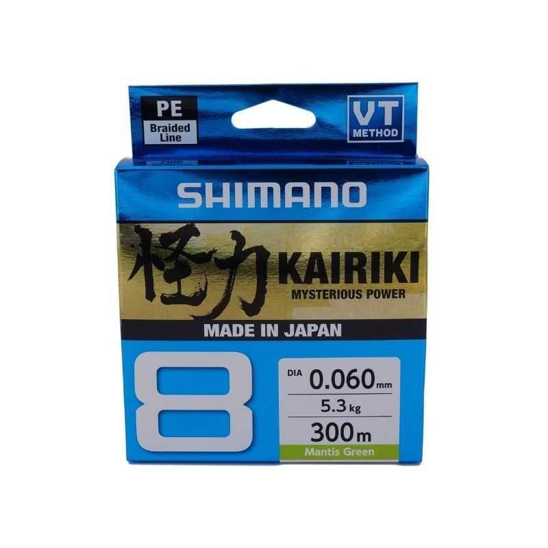 Shimano Kairiki SX8 300 Mt Mantis Green
