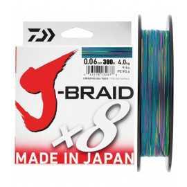 Daiwa J-braid X8 300 mt Multicolor