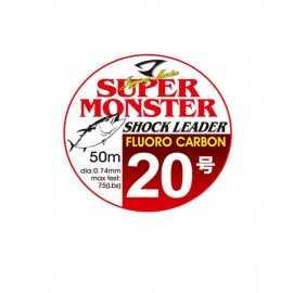 11513-Jigging Master Super Monster Shock Leader Fluorocarbono 50 m