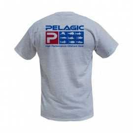 pelagic deluxe print tee usa s/s