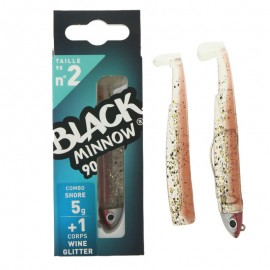 14878-Fiiish Black Minnow Combo 90 mm