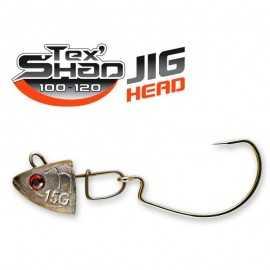 10584-Sakura Jig Head Tex Shad para 120 mm