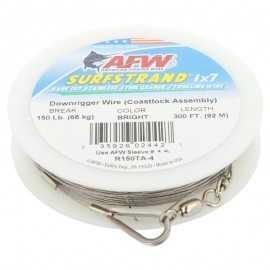 035926024427-Afw Surfstrand Downrigger 92 mt Cable De Acero 150 lb